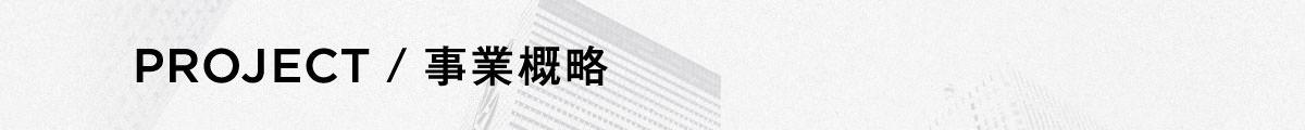 project / 事業概略